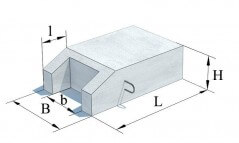 блоки подпорнвх стенок